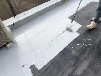 瑞浪市でマンション外壁塗装 外屋上防水工事 L2