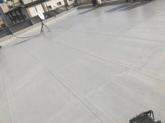 瑞浪市でマンション外壁塗装 外屋上防水工事 L3