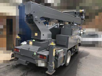 多治見市で作業車の塗り替え 中塗り塗装完成