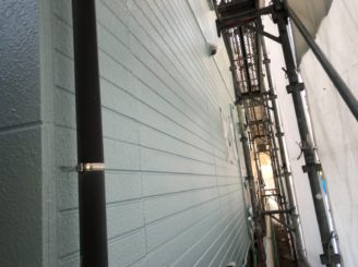 瀬戸市で屋根外壁塗装 上塗り完成