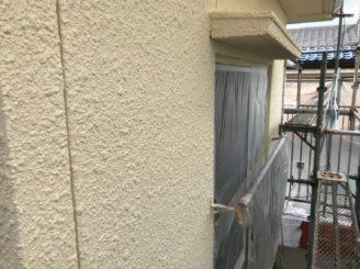 可児市で外壁の中塗り塗装