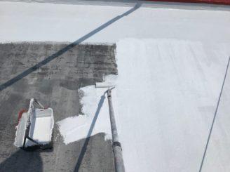 可児市で屋上防水工事