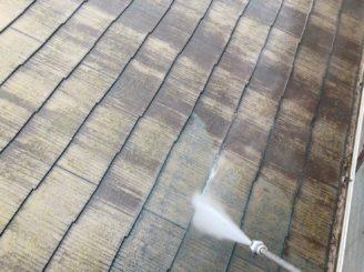 多治見市屋根バイオ洗浄