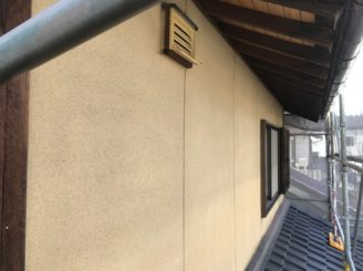 多治見市で外壁のバイオ洗浄