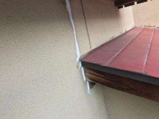 多治見市で外壁塗装 外壁の亀裂のコーキング