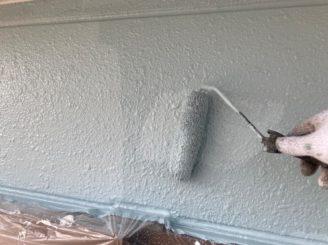 瀬戸市で屋根外壁塗装 中塗り完成