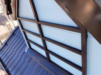 瀬戸市で屋根外壁塗装 外壁木部飾り塗装