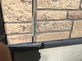 多治見市で屋根外壁塗装 外壁に汚れ