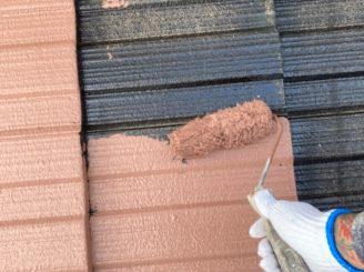 瀬戸市で屋根外壁塗装 屋根下塗り