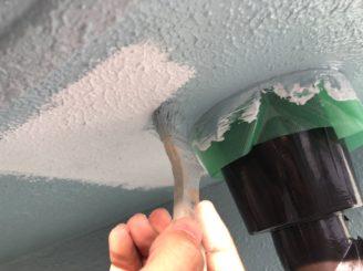 瀬戸市で屋根外壁塗装 軒天塗装