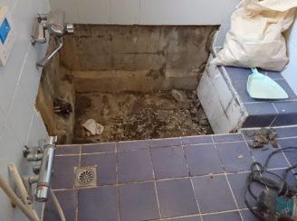 瑞浪市 浴室リフォーム お風呂の壁のリフォーム