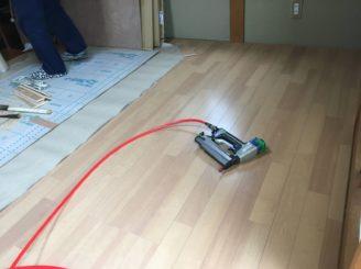 土岐市 和室の床のリフォーム 床の工事