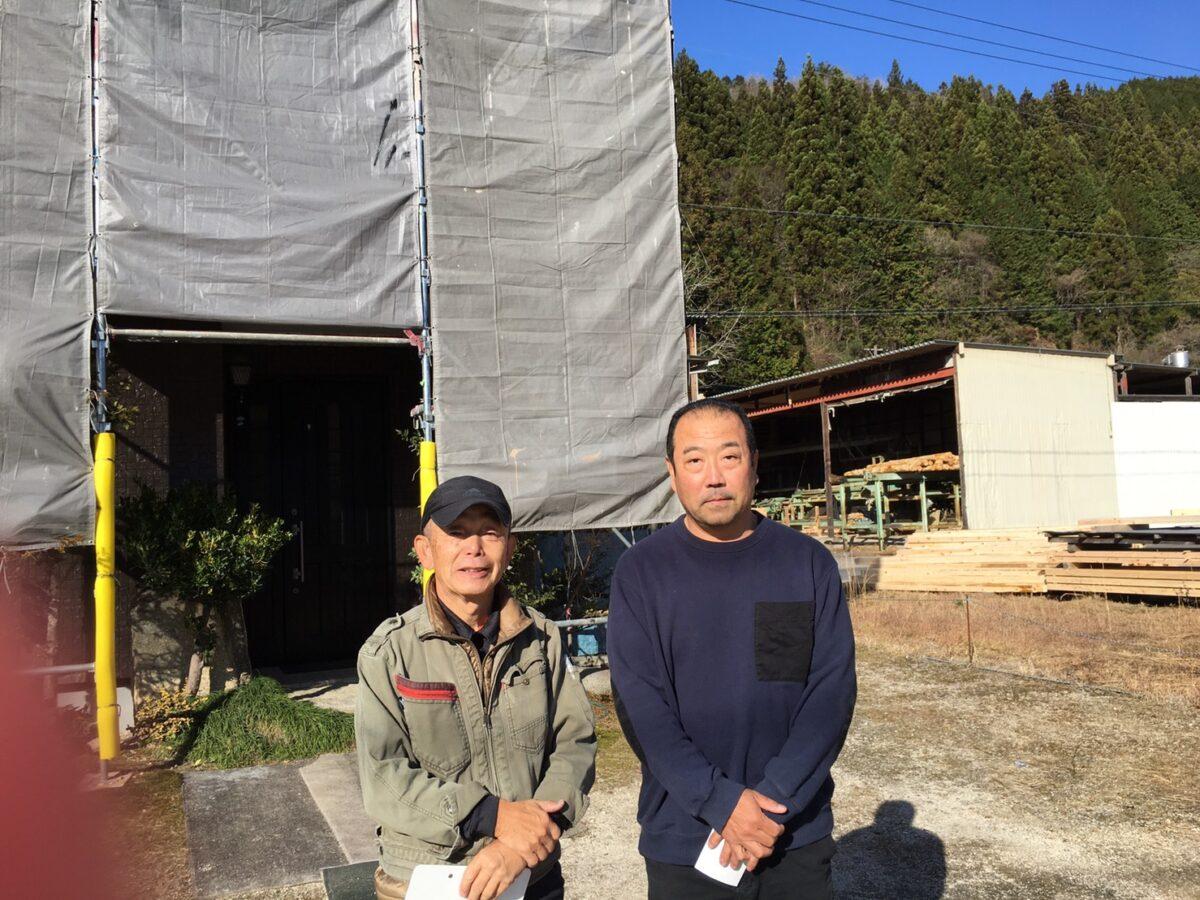 中津川市田瀬で外壁塗装が完成です。落ち着いた佇まいに仕上がりました。
