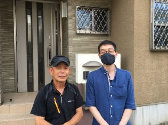 春日井市で無機とフッ素のハイブリッド塗料で、外壁塗装を施工させて頂いたA様邸です。