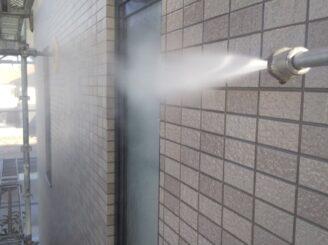 多治見市で屋根外壁の塗り替え塗装 高圧水洗浄