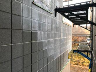 土岐市で屋根一部葺き替え 外壁塗り替え塗装 外壁下塗り塗装