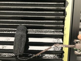 土岐市で屋根一部葺き替え 外壁塗り替え塗装 雨戸塗り替え塗装