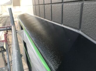 土岐市で屋根一部葺き替え 外壁塗り替え塗装 小庇塗り替え