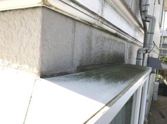 多治見市で屋根外壁塗装 塗り替え前 目地の亀裂 隙間
