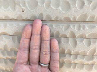 瑞浪市で外壁塗装 下見 チョーキング現象