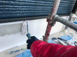 瑞浪市で外壁塗装 基礎塗装