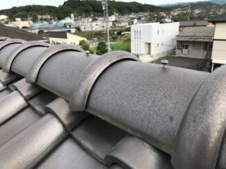 土岐市で屋根一部葺き替え 外壁塗り替え塗装 屋根葺き替え前