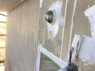 多治見市で屋根外壁塗 外壁下塗り塗装