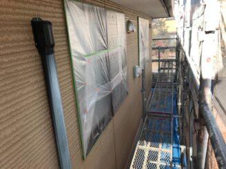 瑞浪市でシリコン塗料で外壁塗装 塗り替え前