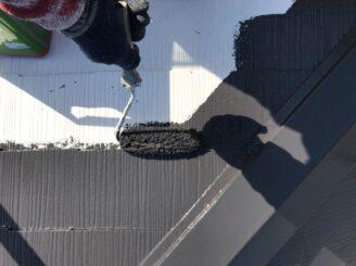 瑞浪市で遮熱効果のある塗料で屋根塗装
