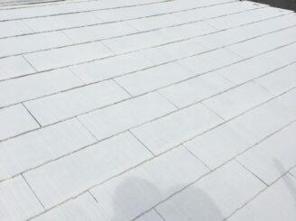 多治見市で屋根外壁塗装 屋根の塗り替え 下塗り塗装完成