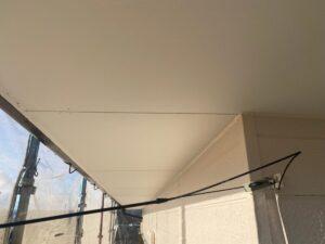 恵那市岩村町のK様邸の外壁塗装工事も本日で完了です。綺麗な仕上がりです。