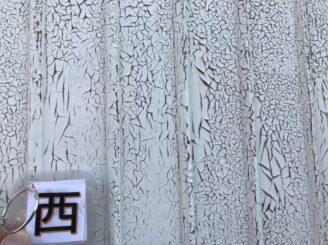 春日井市で屋根外壁塗り替え塗装 前 外壁