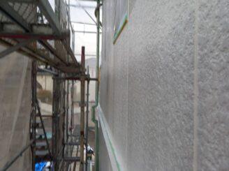 多治見市で屋根外壁の塗り替え塗装 外壁の下塗り塗装