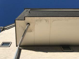 多治見市で外壁塗装 ベランダ防水工事 工事前
