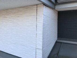 多治見市で外壁塗装 ベランダ防水工事 塗り替え前のお家の状態