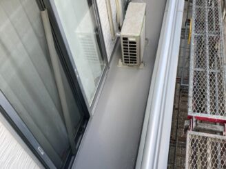 多治見市で外壁塗装 ベランダ防水工事 完成