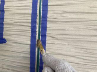 多治見市で外壁塗装 ベランダ防水工事 目地打ち替え