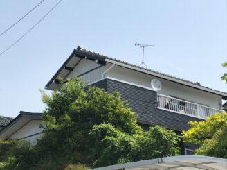 春日井で屋根外壁塗装 塗り替え工事 塗り替え後写真