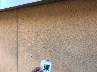 多治見市で外壁塗装工事 外壁に汚れ