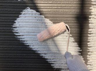 多治見市で外壁の下塗り塗装