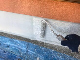 多治見市で外壁塗装 基礎塗装 ベースガード