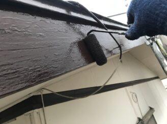 春日井市で付帯部塗装 破風板の塗り替え