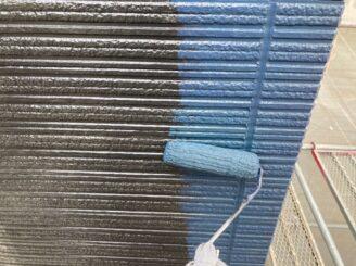 多治見市で外壁の中塗り塗装