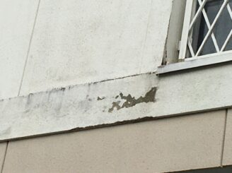 可児市で屋根外壁塗装 塗り替え前壁