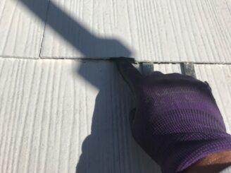 可児市で屋根外壁の塗り替え 屋根の下塗り塗装