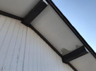 春日井市で屋根外壁塗り替え塗装 前