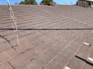 犬山市で屋根外壁塗装 屋根タスペーサー取付完成