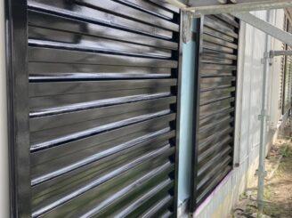 春日井市で屋根外壁塗り替え塗装 雨戸塗り替え