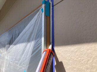 春日井市で屋根外壁塗り替え塗装 目地打ち替え 目地増し打ち
