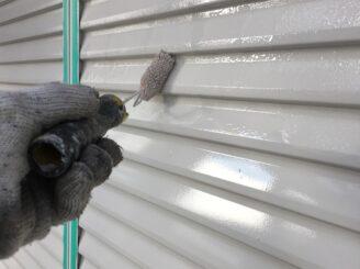 多治見市で屋根外壁の塗り替え塗装 付帯部塗装 雨戸塗り替え塗装